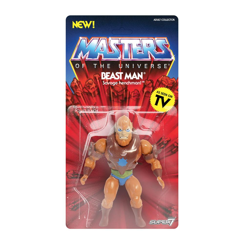 Photo du produit MASTERS OF THE UNIVERSE SÉRIE 2 FIGURINE VINTAGE COLLECTION BEAST MAN 14 CM