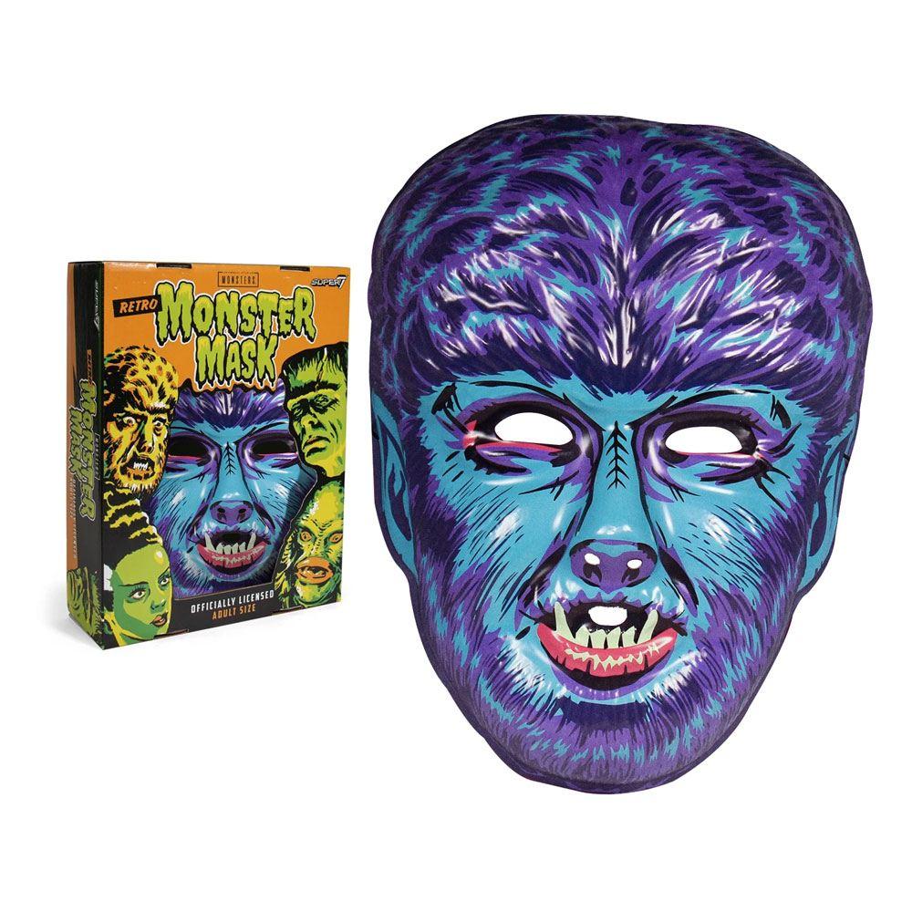 Photo du produit UNIVERSAL MONSTERS MASQUE WOLF MAN (BLUE)