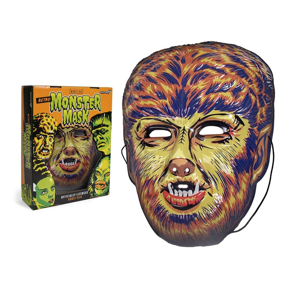 Photo du produit UNIVERSAL MONSTERS MASQUE WOLF MAN (YELLOW)