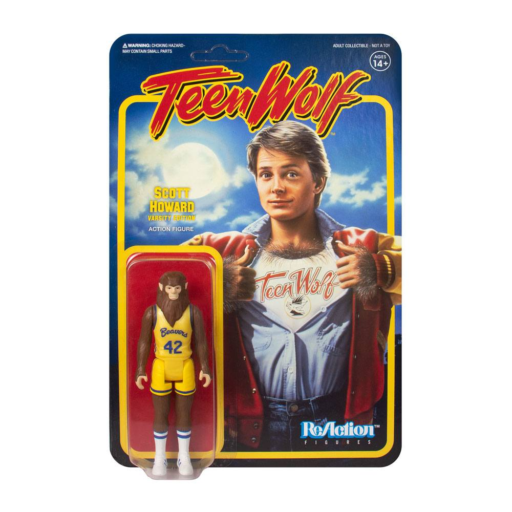 Photo du produit TEEN WOLF FIGURINE REACTION TEEN WOLF BASKETBALL 10 CM