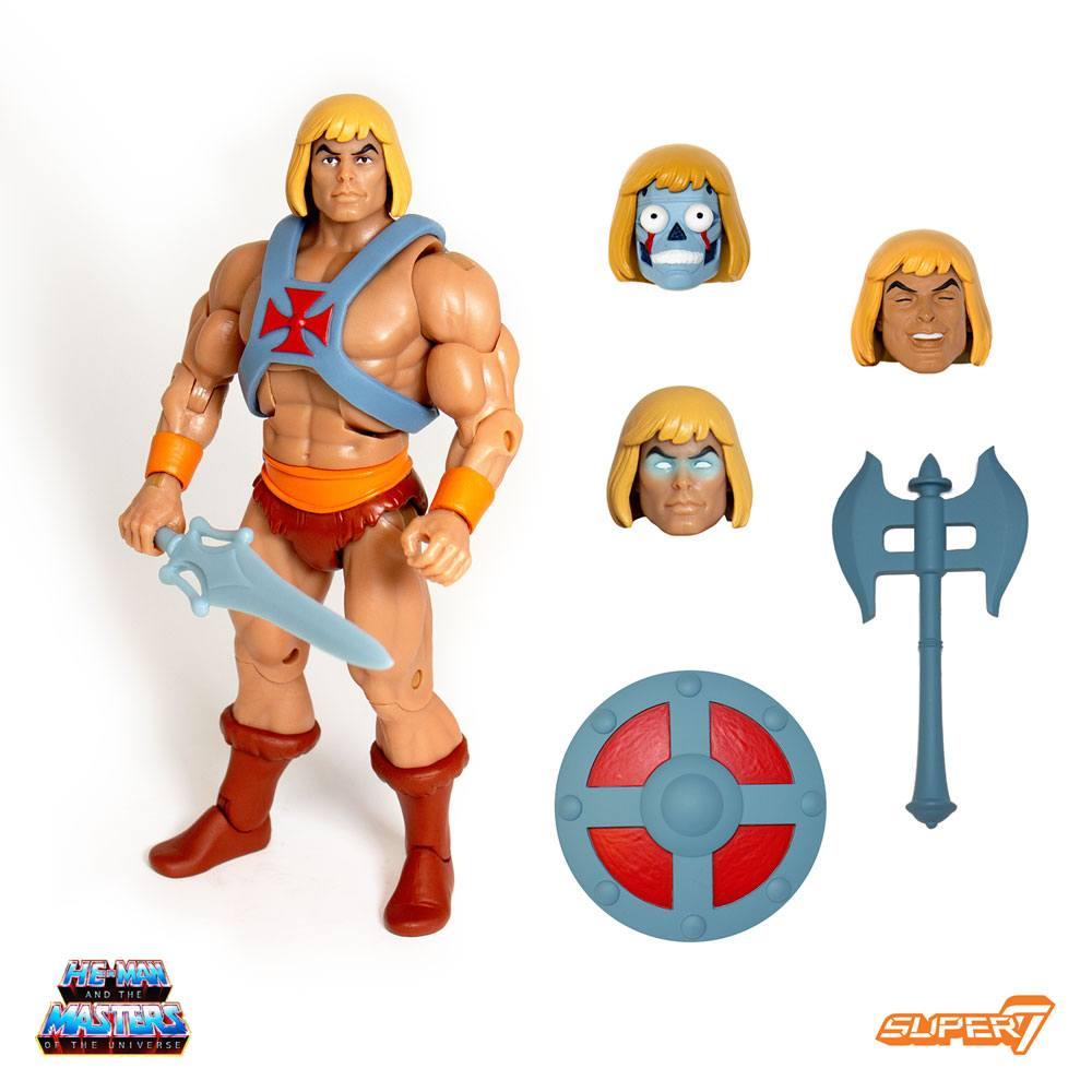 Photo du produit MASTERS OF THE UNIVERSE CLASSICS FIGURINE CLUB GRAYSKULL ULTIMATES HE-MAN 18 CM