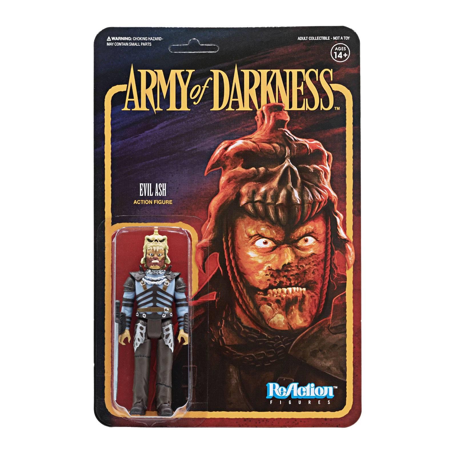 Photo du produit Army of Darkness figurine ReAction Evil Ash 10 cm