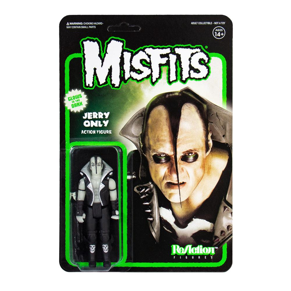 Photo du produit Misfits figurine ReAction Jerry Only Glow In The Dark 10 cm
