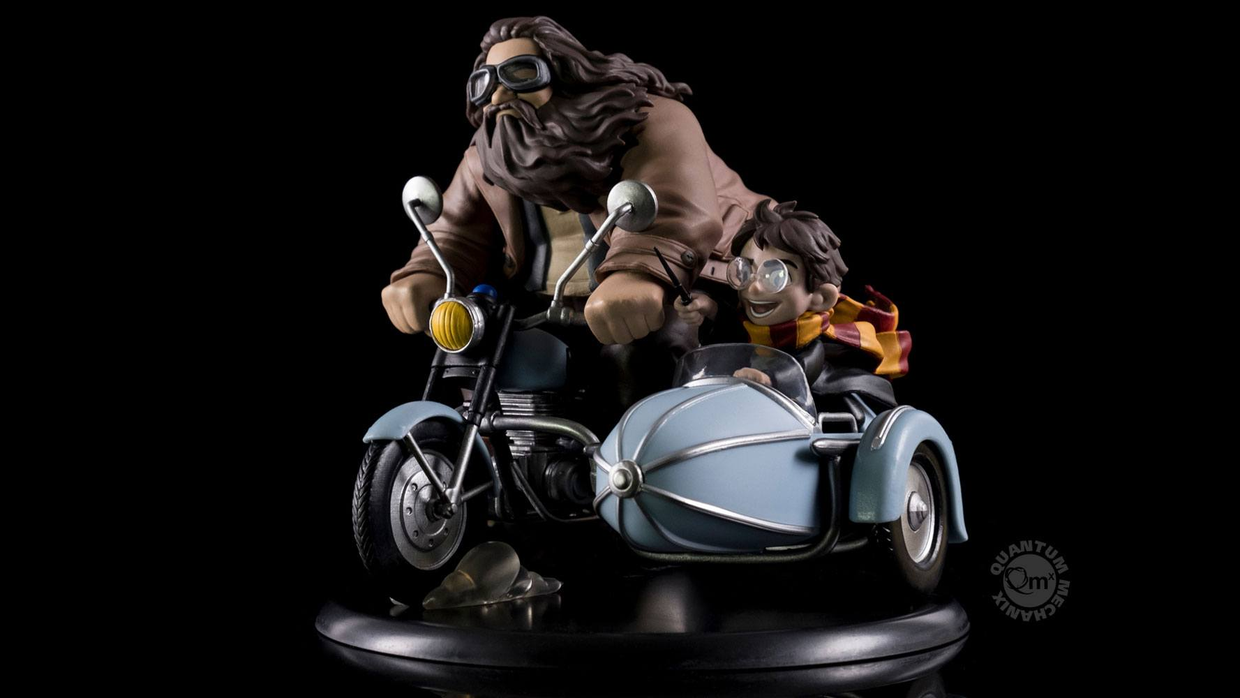 Photo du produit HARRY POTTER DIORAMA Q-FIG MAX HARRY POTTER & RUBEUS HAGRID 15 CM
