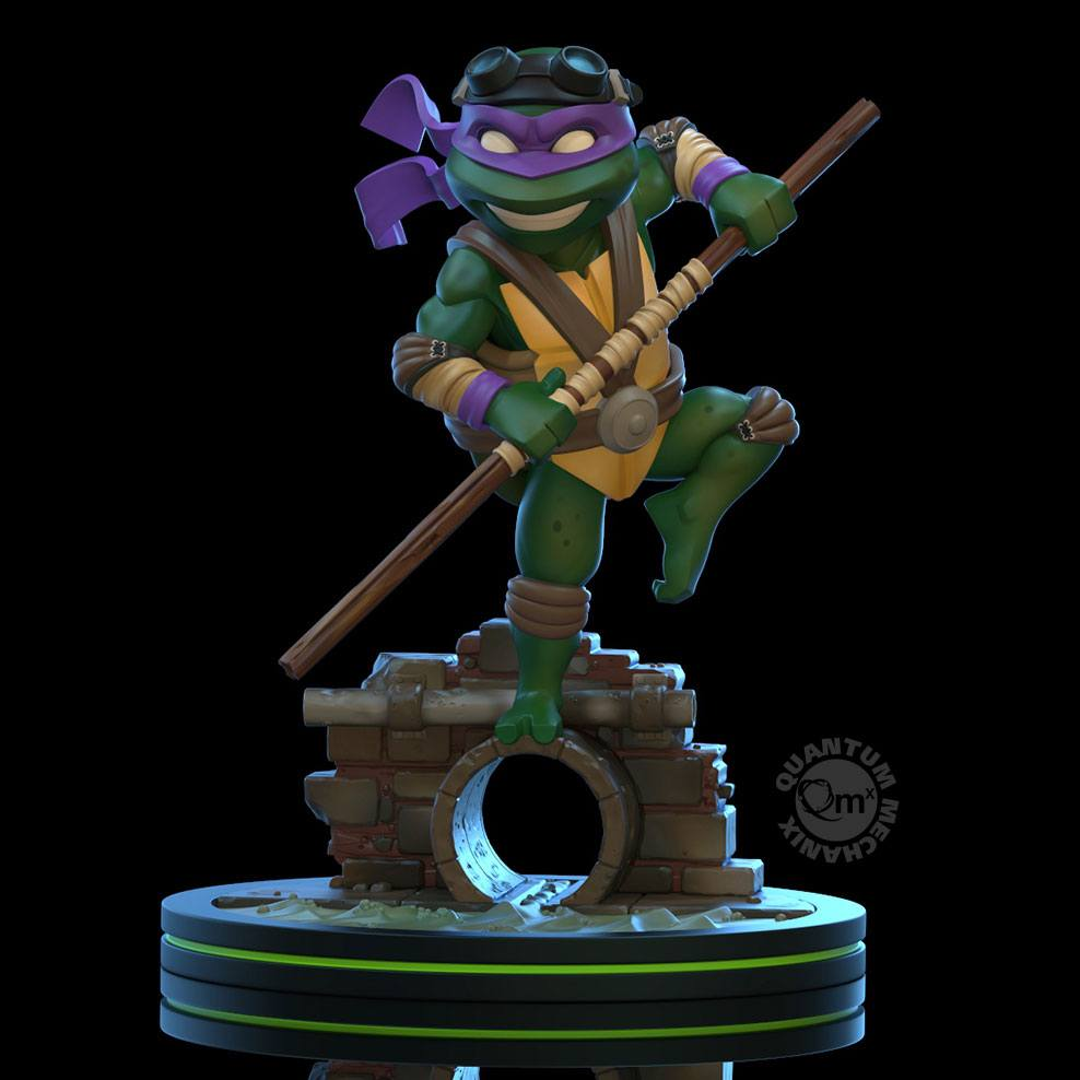 Photo du produit TORTUES NINJA FIGURINE Q-FIG DONATELLO 13 CM