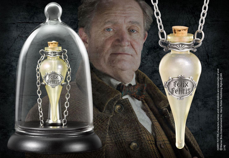 Photo du produit Harry Potter pendentif Felix Felicis avec présentoir