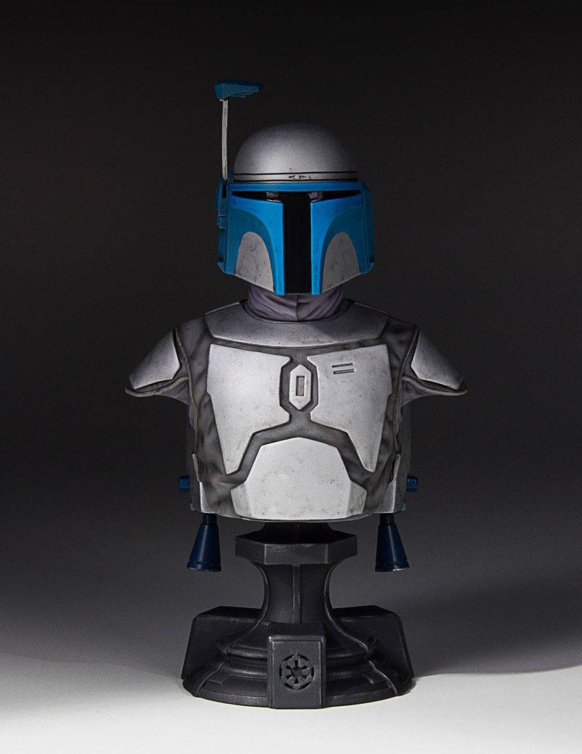 Photo du produit STAR WARS GENTLE GIANT BUSTE 1/6 JANGO FETT 19 CM