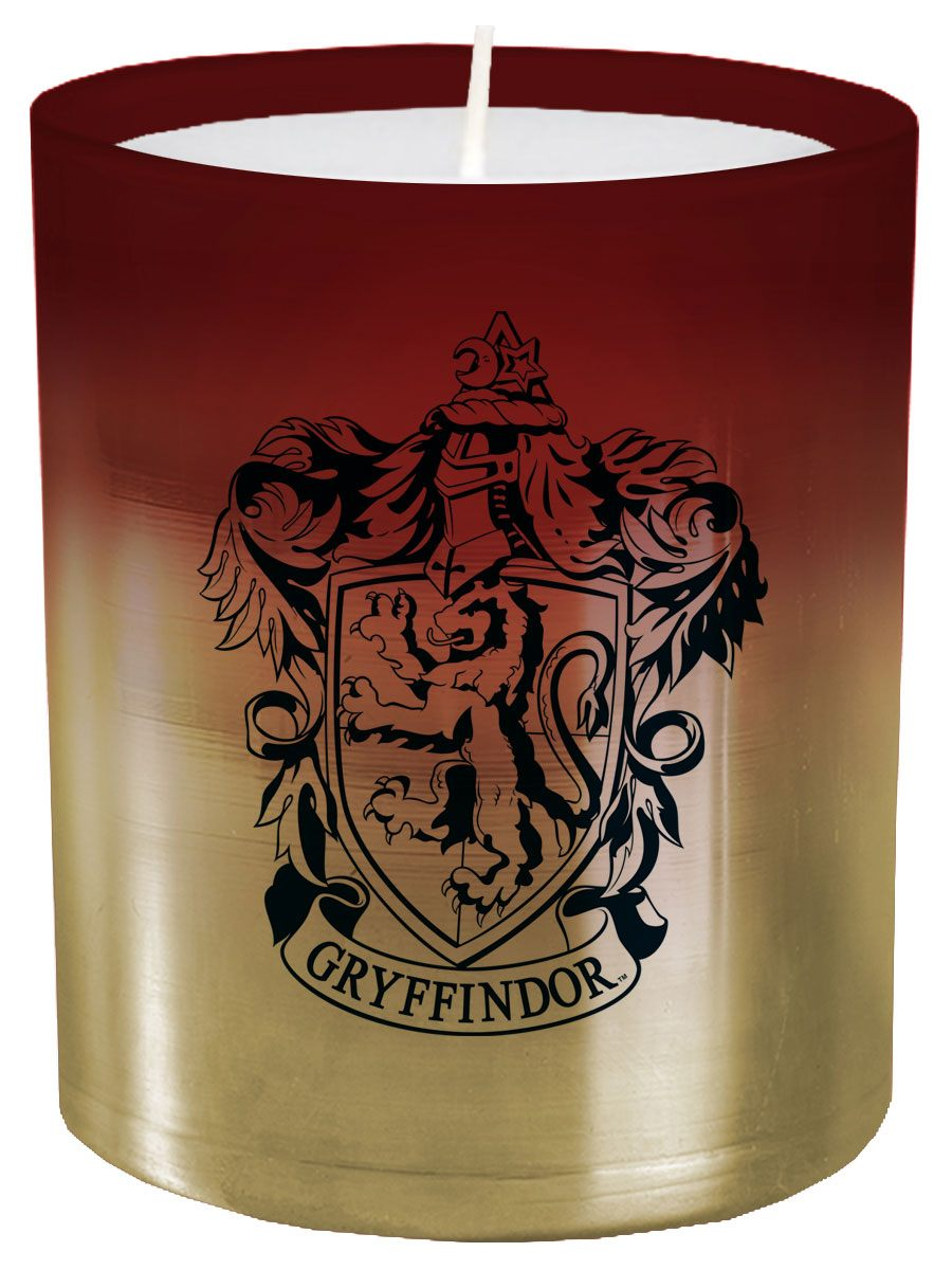 Photo du produit HARRY POTTER BOUGIE VERRE GRYFFINDOR