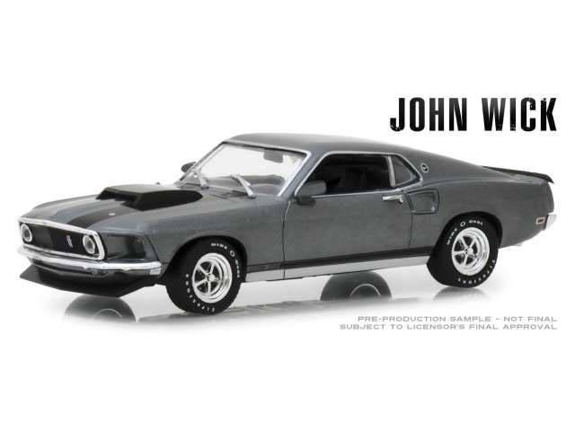 Photo du produit JOHN WICK 1969 FORD MUSTANG BOSS 429 1/43 MÉTAL
