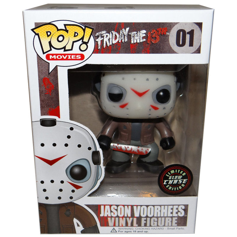 Photo du produit FIGURINE FUNKO POP FRIDAY THE 13TH JASON VOORHEES CHASE EXCLUSIVE