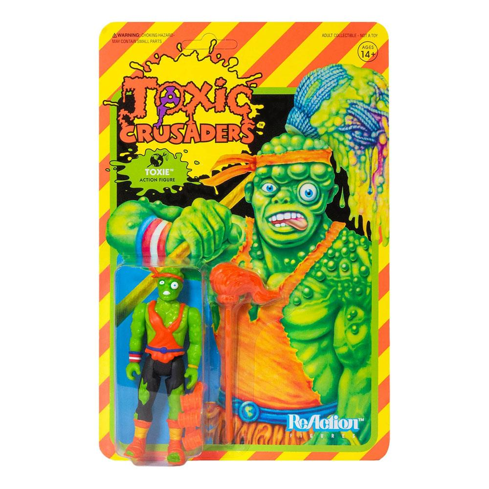 Photo du produit FIGURINE SUPER7 TOXIC CRUSADERS WAVE 1 REACTION TOXIE 10 CM