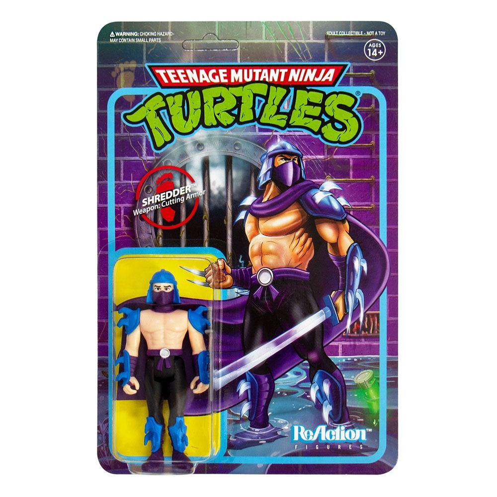 Photo du produit Les Tortues ninja figurine ReAction Shredder 10 cm