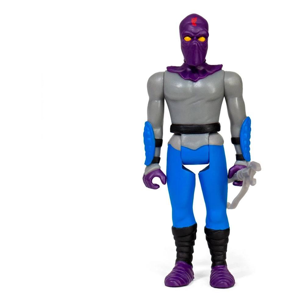 Photo du produit Les Tortues ninja figurine ReAction Foot Soldier 10 cm