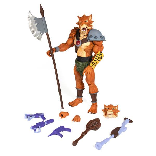 Photo du produit THUNDERCATS FIGURINE ULTIMATES JACKALMAN 18 CM