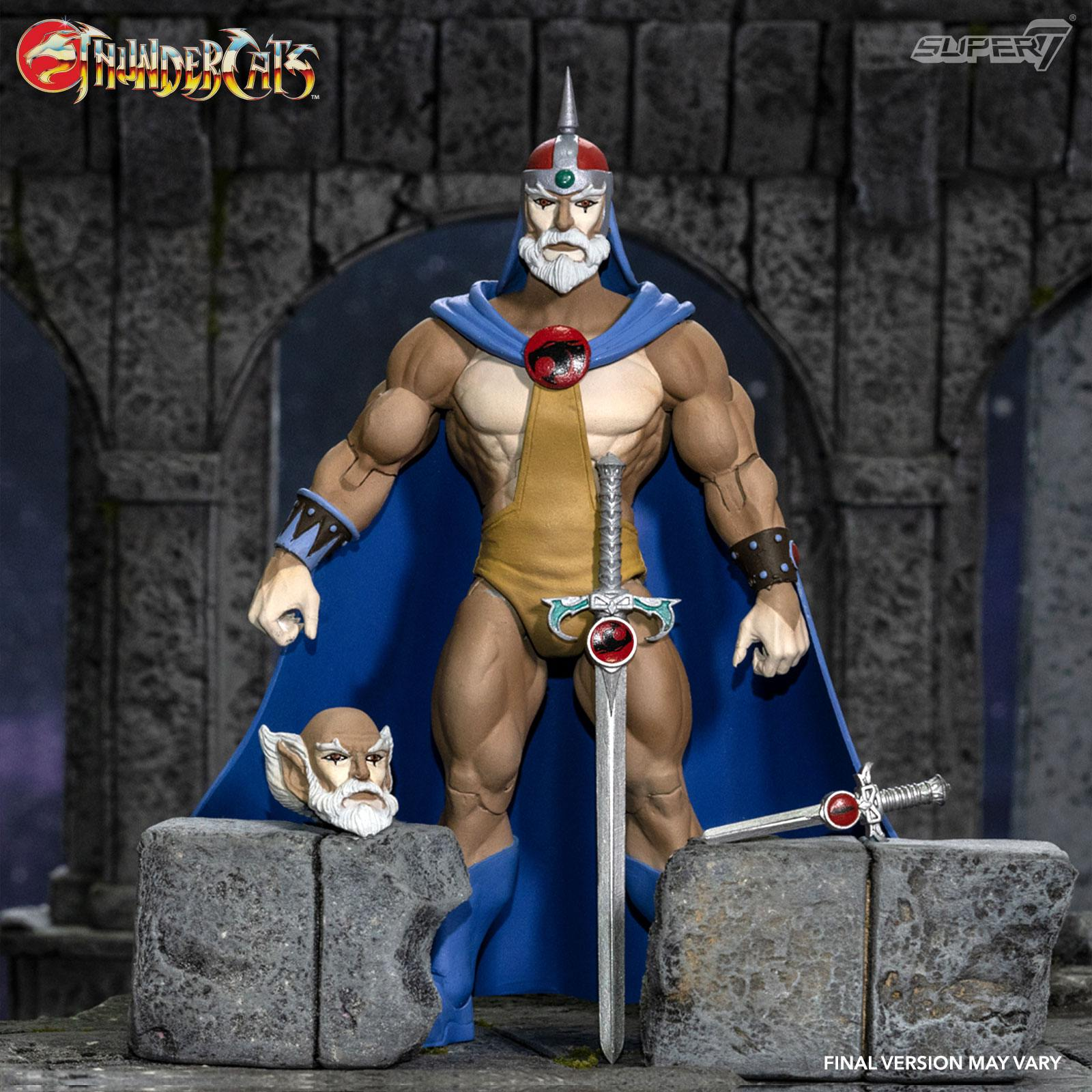 Photo du produit THUNDERCATS WAVE 3 FIGURINE ULTIMATES JAGA THE WISE THUNDERCAT MENTOR 18 CM