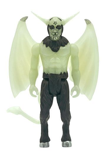 Photo du produit VENOM FIGURINE SUPER7 REACTION BLACK METAL (GLOW IN THE DARK) 10 CM