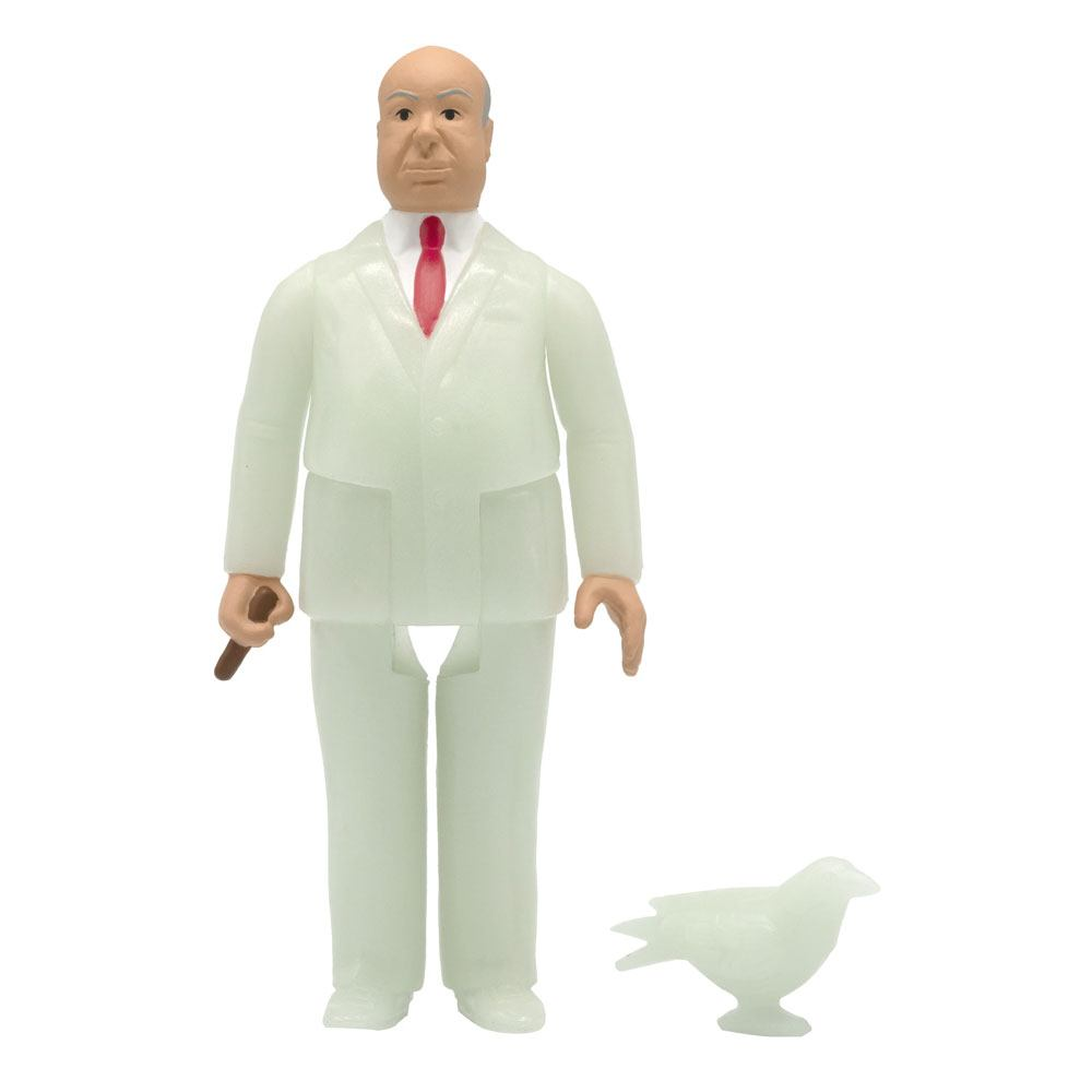 Photo du produit ALFRED HITCHCOCK FIGURINE SUPER7 REACTION ALFRED HITCHCOCK MONSTER GLOW 10 CM