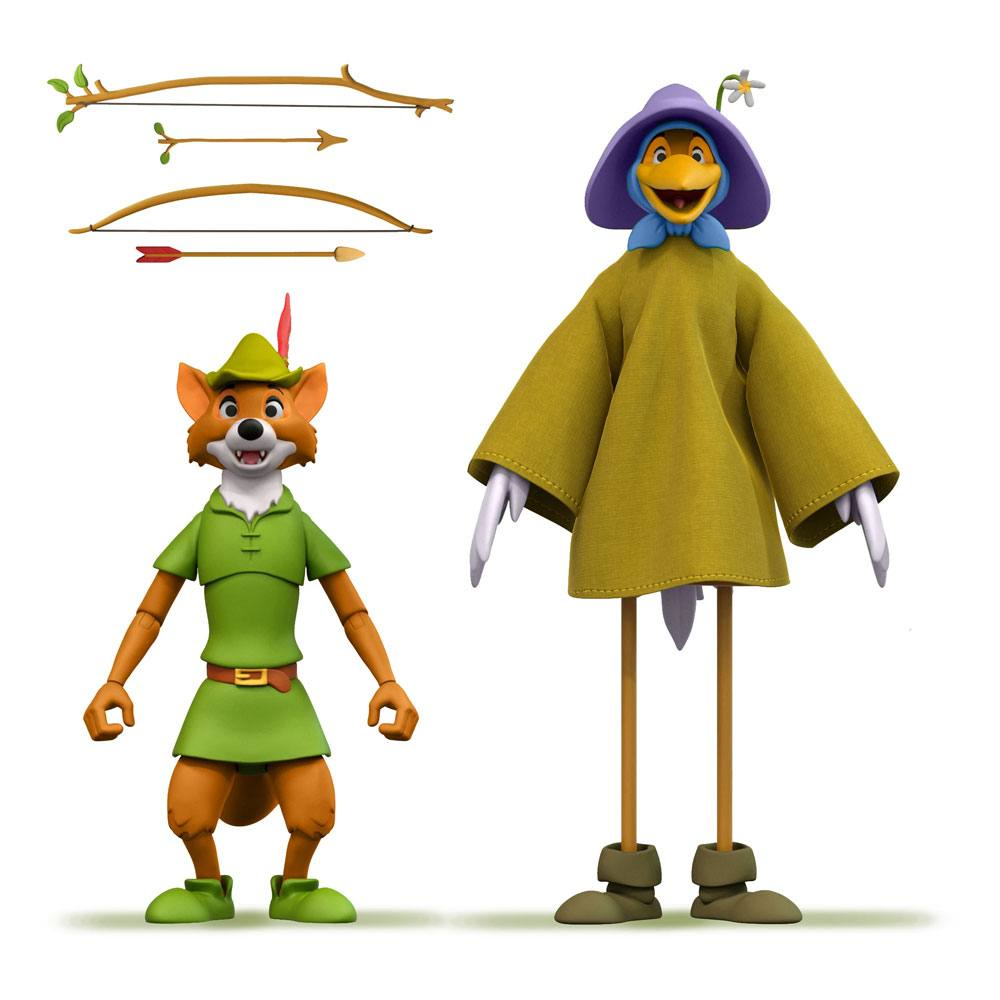 Photo du produit Robin Hood figurine Disney Ultimates Robin Hood Stork Costume 18 cm