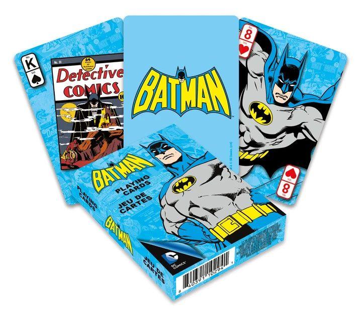 Photo du produit DC Comics jeu de cartes à jouer Retro Batman