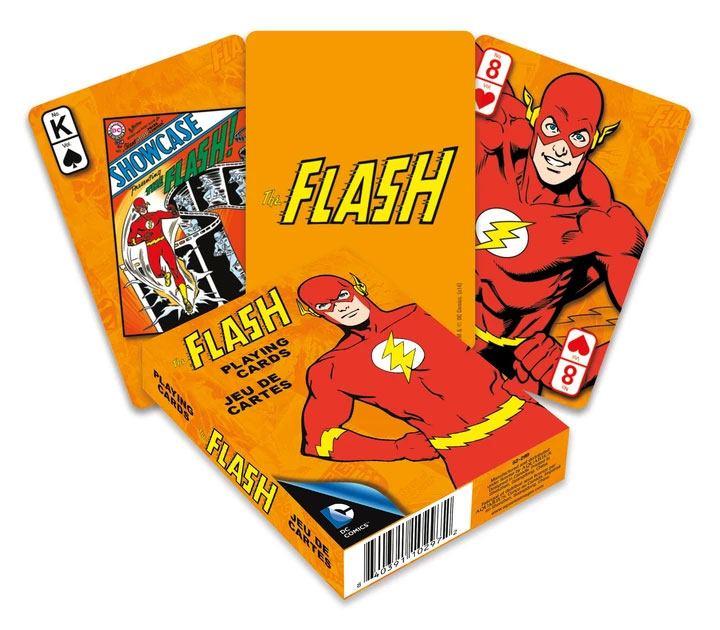 Photo du produit DC Comics jeu de cartes à jouer Retro Flash