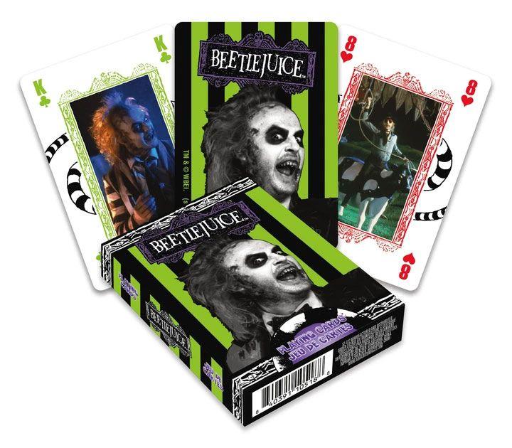 Photo du produit Beetlejuice jeu de cartes à jouer Movie