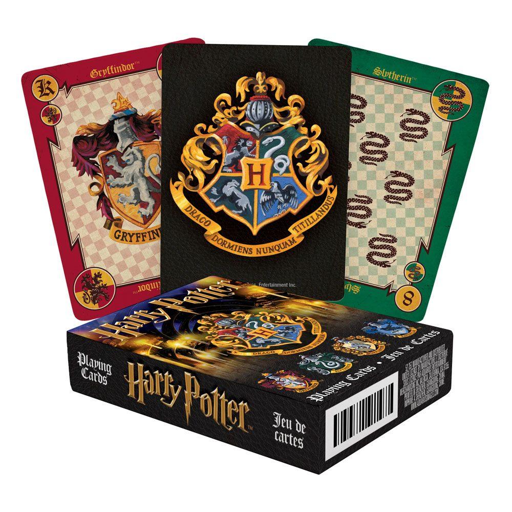 Photo du produit Harry Potter jeu de cartes à jouer Crests