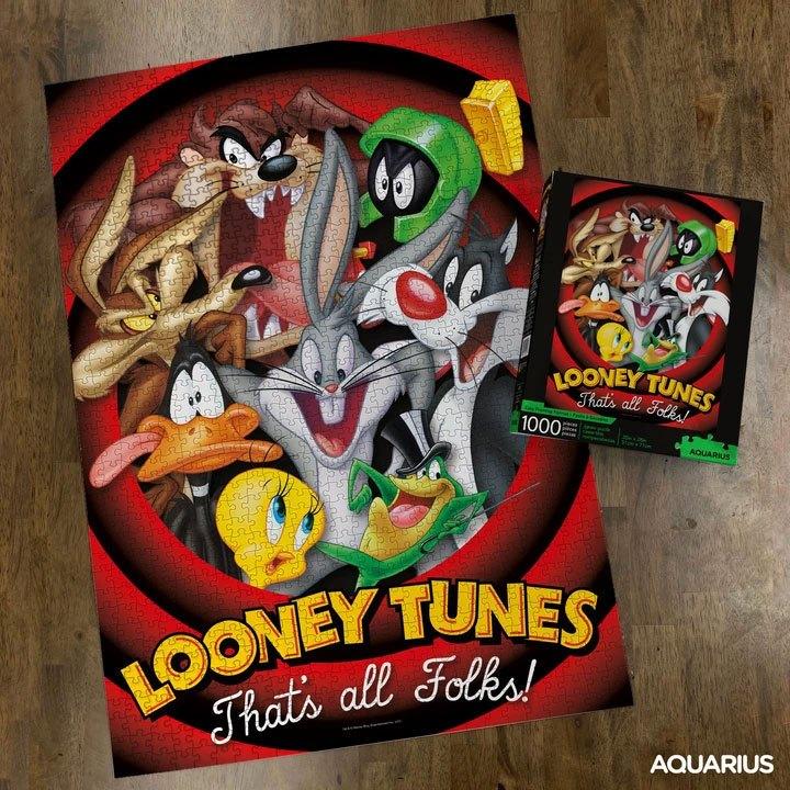 Photo du produit LOONEY TUNES PUZZLE THAT'S ALL FOLKS (1000 PIÈCES)