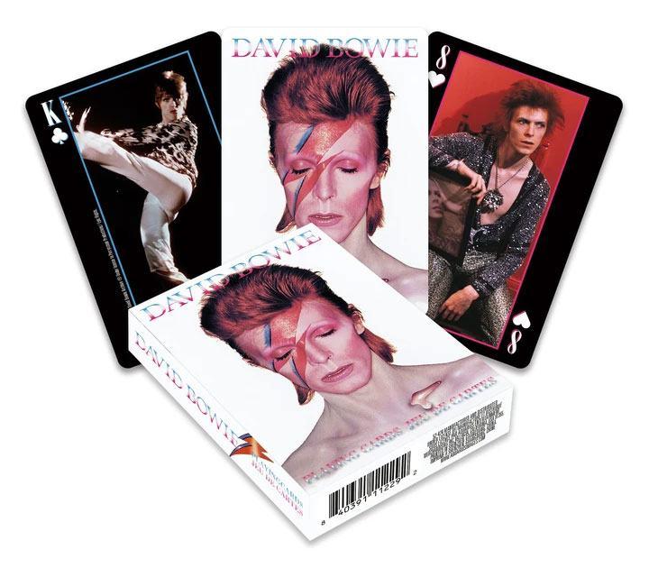 Photo du produit David Bowie jeu de cartes à jouer Pictures