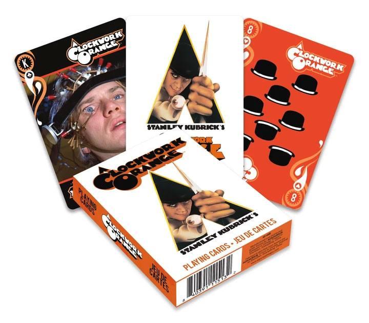 Photo du produit Orange mécanique jeu de cartes à jouer Movie