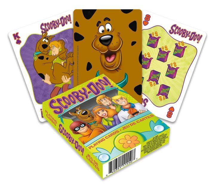Photo du produit Scooby-Doo jeu de cartes à jouer Cartoon
