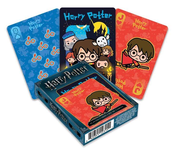 Photo du produit Harry Potter jeu de cartes à jouer Chibi