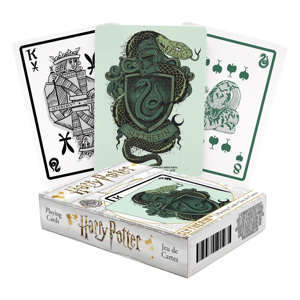Photo du produit Harry Potter jeu de cartes à jouer Serpentard