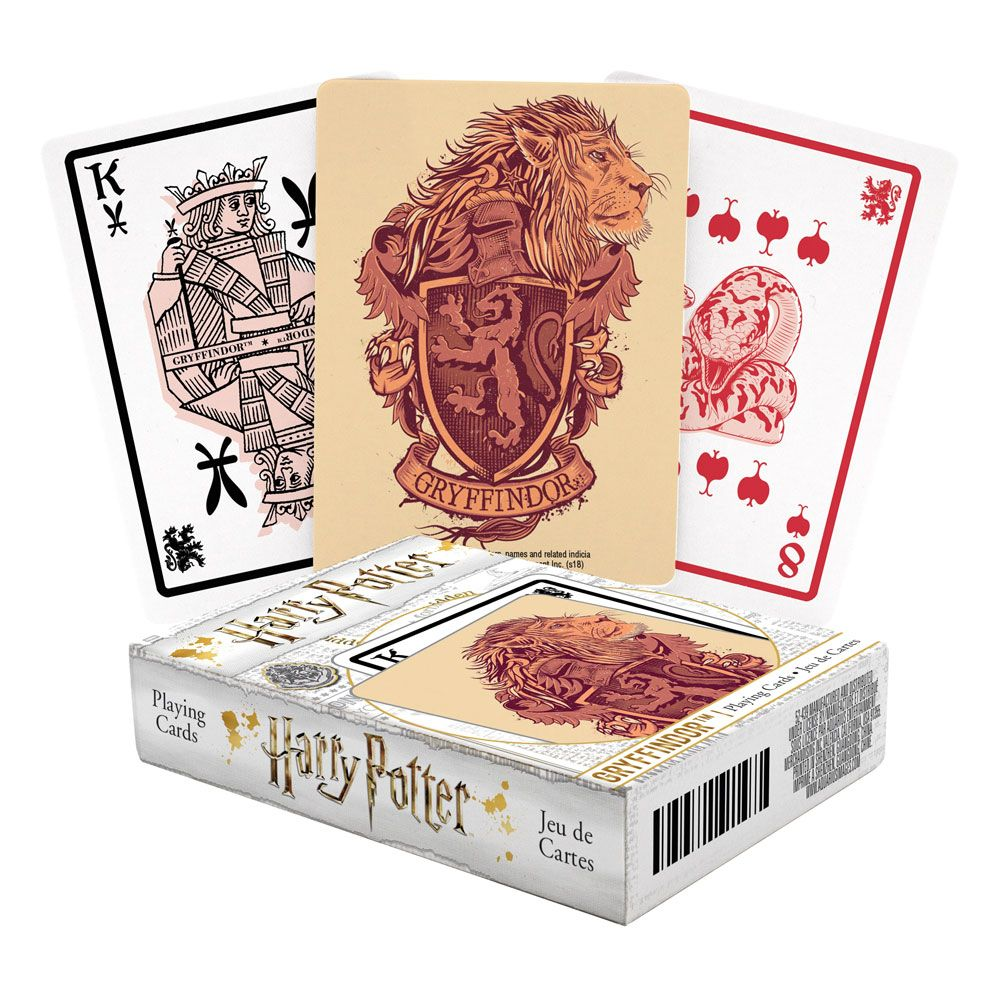 Photo du produit Harry Potter jeu de cartes à jouer Gryffondor