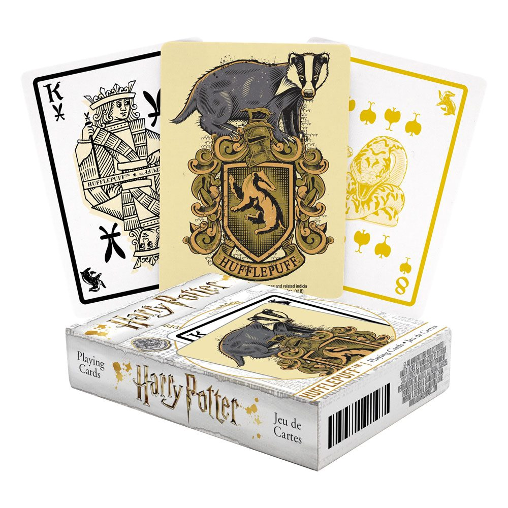 Photo du produit Harry Potter jeu de cartes à jouer Poufsouffle