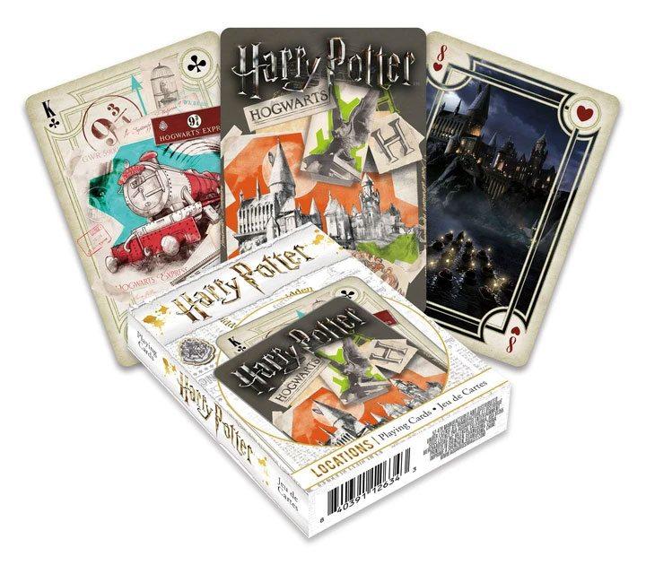 Photo du produit Harry Potter jeu de cartes à jouer Locations