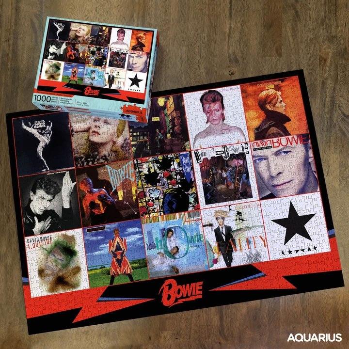 Photo du produit DAVID BOWIE PUZZLE ALBUMS (1000 PIÈCES)