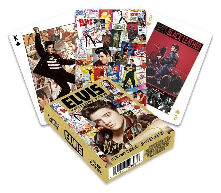 Photo du produit Elvis Presley jeu de cartes à jouer Movie Posters