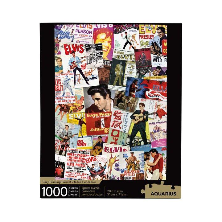 Photo du produit Elvis Presley puzzle Movie Poster Collage (1000 pièces)