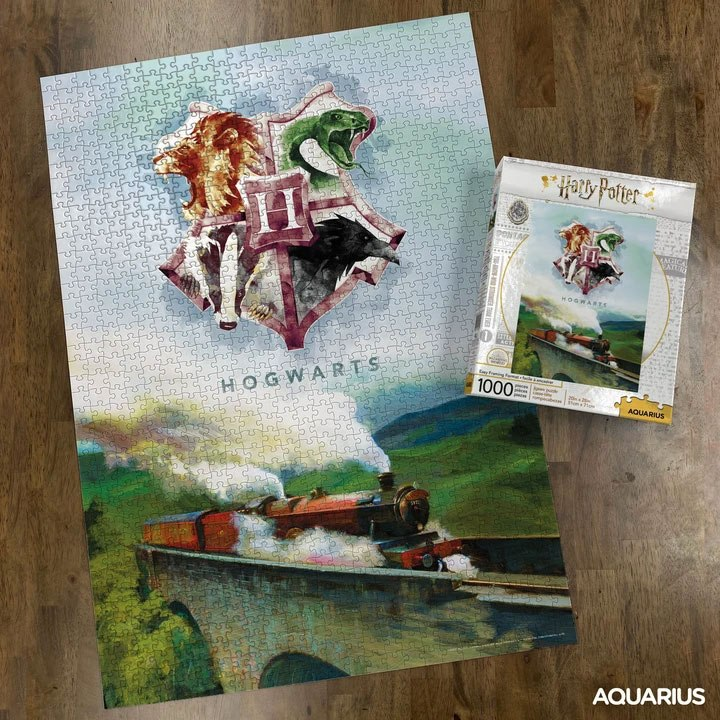 Photo du produit HARRY POTTER PUZZLE EXPRESS (1000 PIÈCES)