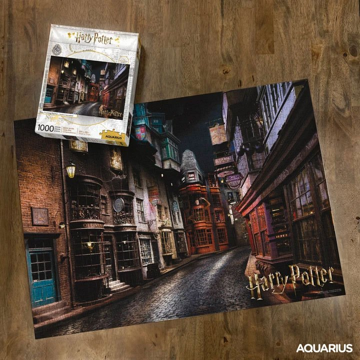 Photo du produit HARRY POTTER PUZZLE CHEMIN DE TRAVERSE (1000 PIÈCES)