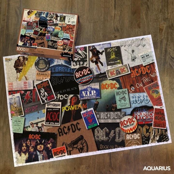 Photo du produit AC/DC PUZZLE ALBUMS (1000 PIÈCES)