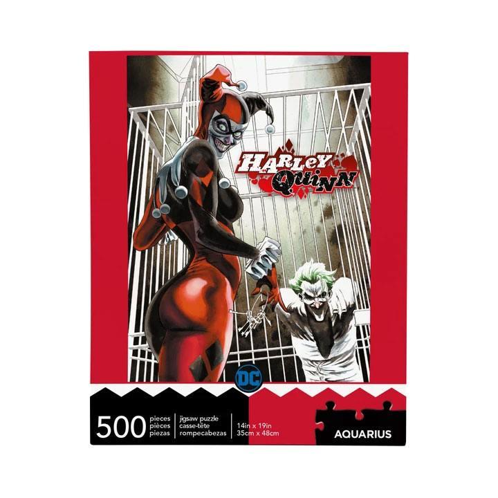 Photo du produit DC COMICS PUZZLE HARLEY QUINN & JOKER (500 PIÈCES)