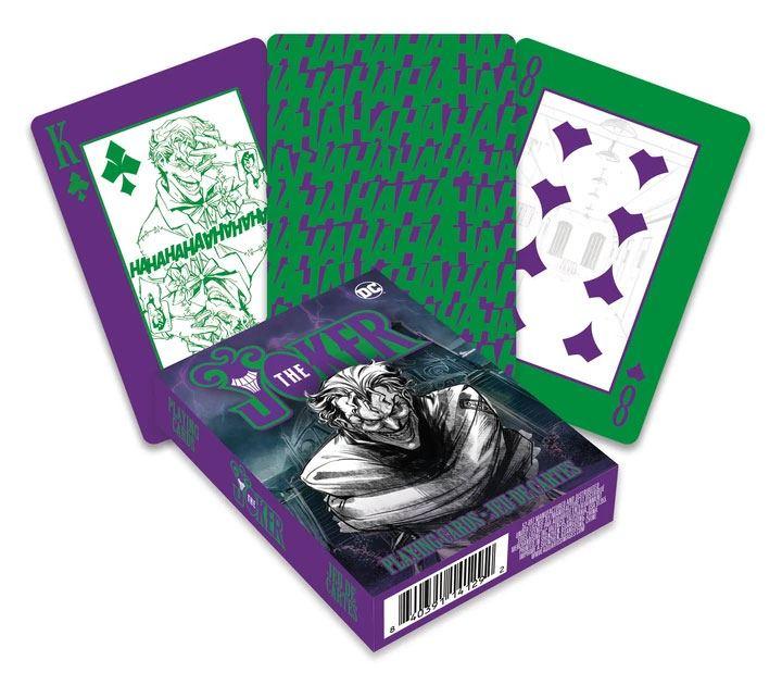 Photo du produit DC Comics jeu de cartes à jouer Joker