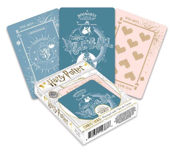 Photo du produit Harry Potter jeu de cartes à jouer Christmas