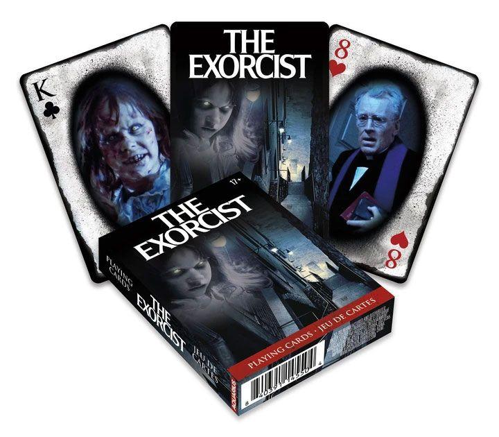 Photo du produit L´ Exorciste jeu de cartes à jouer Movie