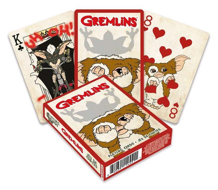 Photo du produit Gremlins jeu de cartes à jouer Cartoon