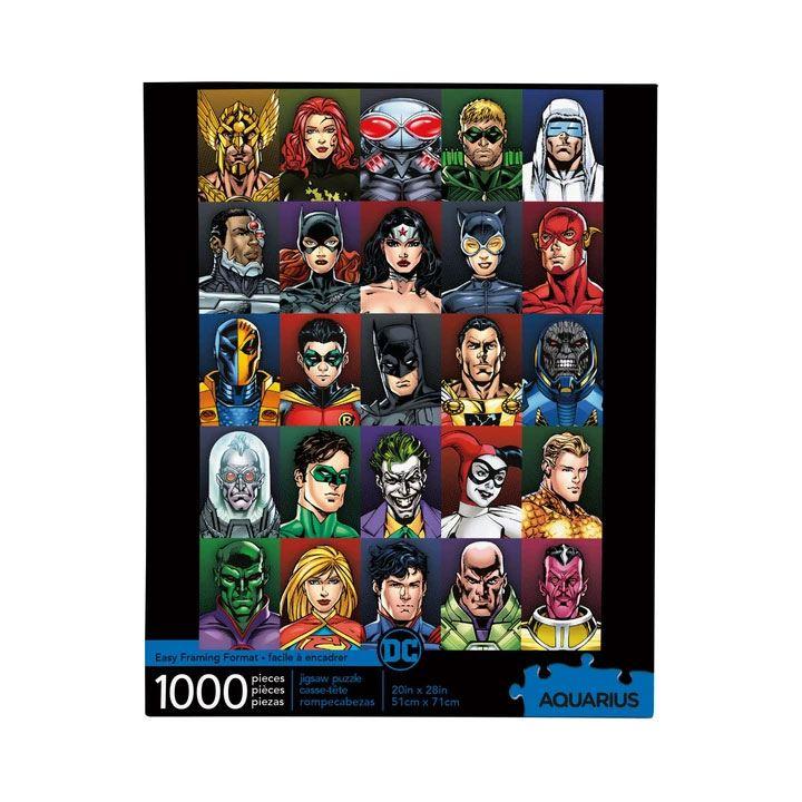 Photo du produit DC COMICS PUZZLE FACES (1000 PIÈCES)