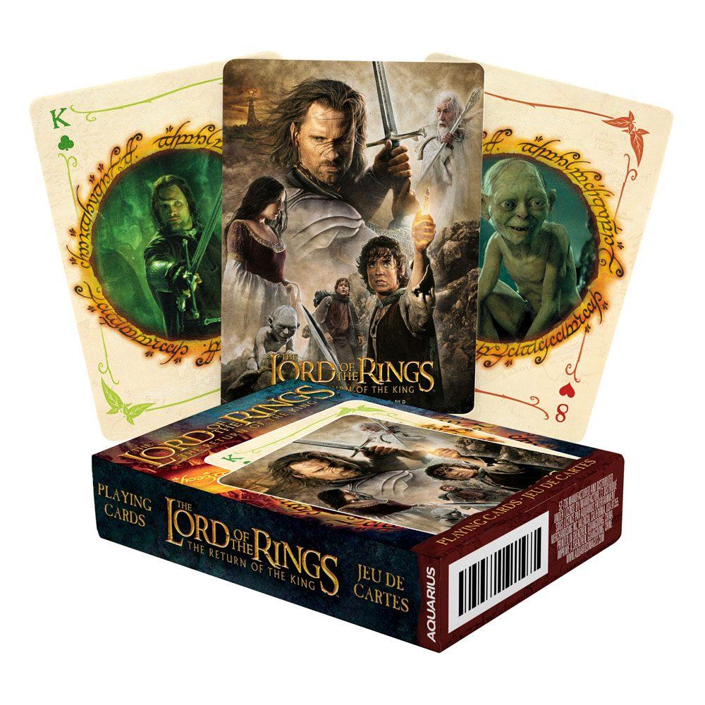Photo du produit Le Seigneur des Anneaux jeu de cartes à jouer Le Retour du roi