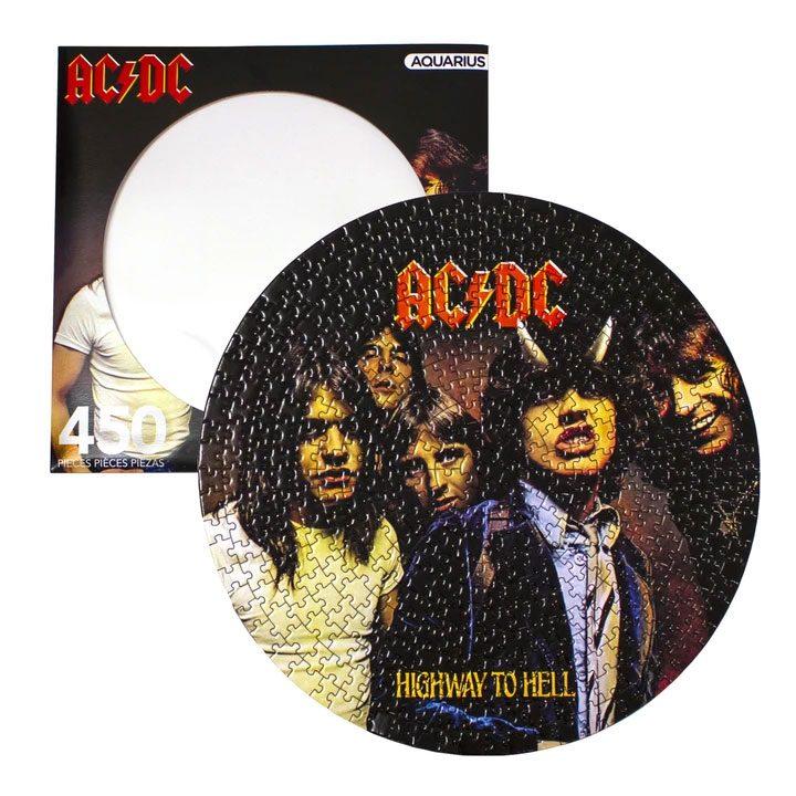 Photo du produit AC/DC PUZZLE DISC HIGHWAY TO HELL (450 PIÈCES)