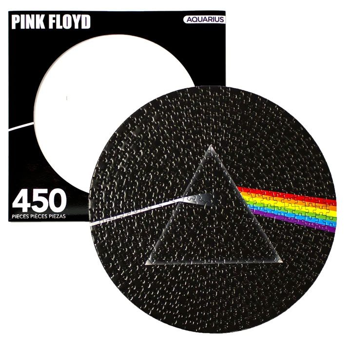 Photo du produit PINK FLOYD PUZZLE DISC DARK SIDE (450 PIÈCES)